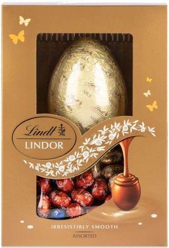 Jajo Lindt Lindor Assorted Gift Egg 215g