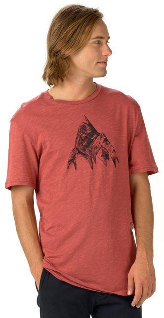 t-shirt męski BURTON MATTERHORN SLIM SS DUSTY CEDAR