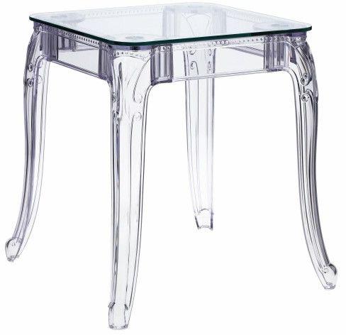 Stół transparentny Ghost 62x62