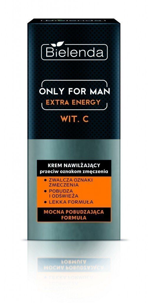 Bielenda Bielenda Only for Man Extra Energy Krem nawilżający przeciw oznakom zmęczenia 50ml