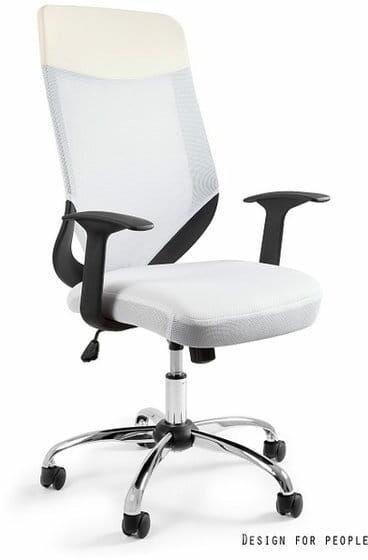 Fotel Biurowy Unique MOBI PLUS biały