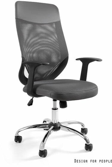 Fotel Biurowy Unique MOBI PLUS szary