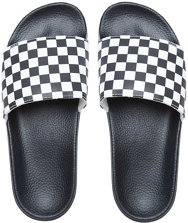 kapcie VANS SLIDE-ON (CHECKERBOARD) Black