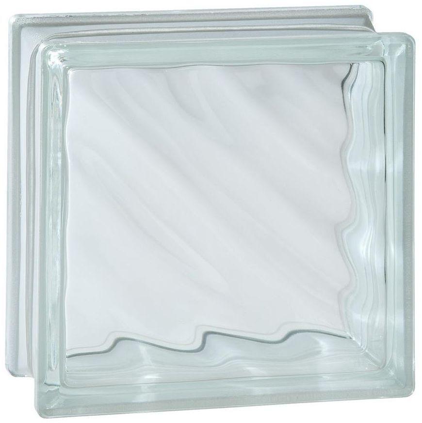 Pustak szklany FALA Bezbarwny SEVES BASIC