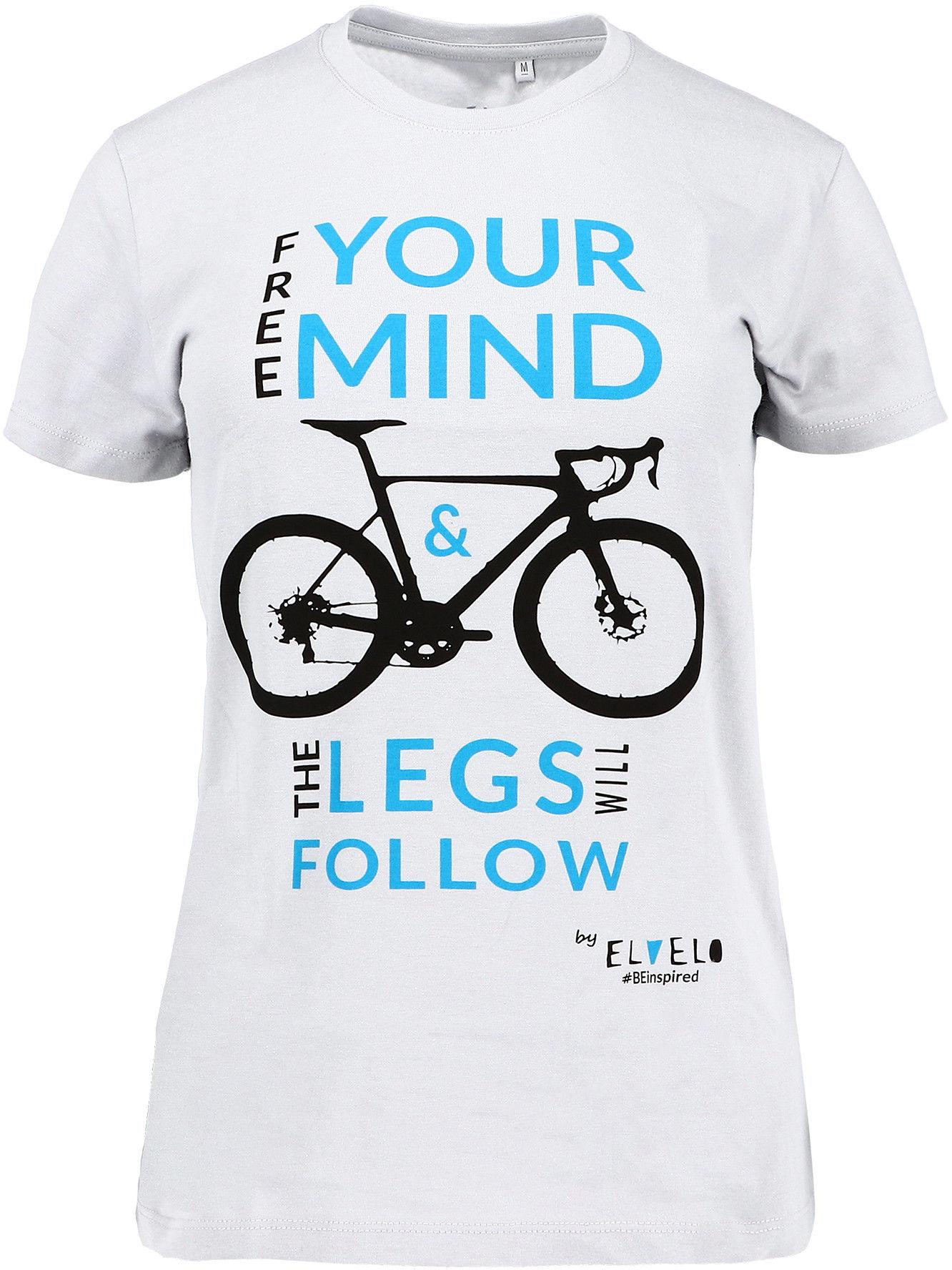 FREE YOUR MIND by ELVELO #BEinspired T-SHIRT/KOSZULKA dla rowerzystki/kolarki