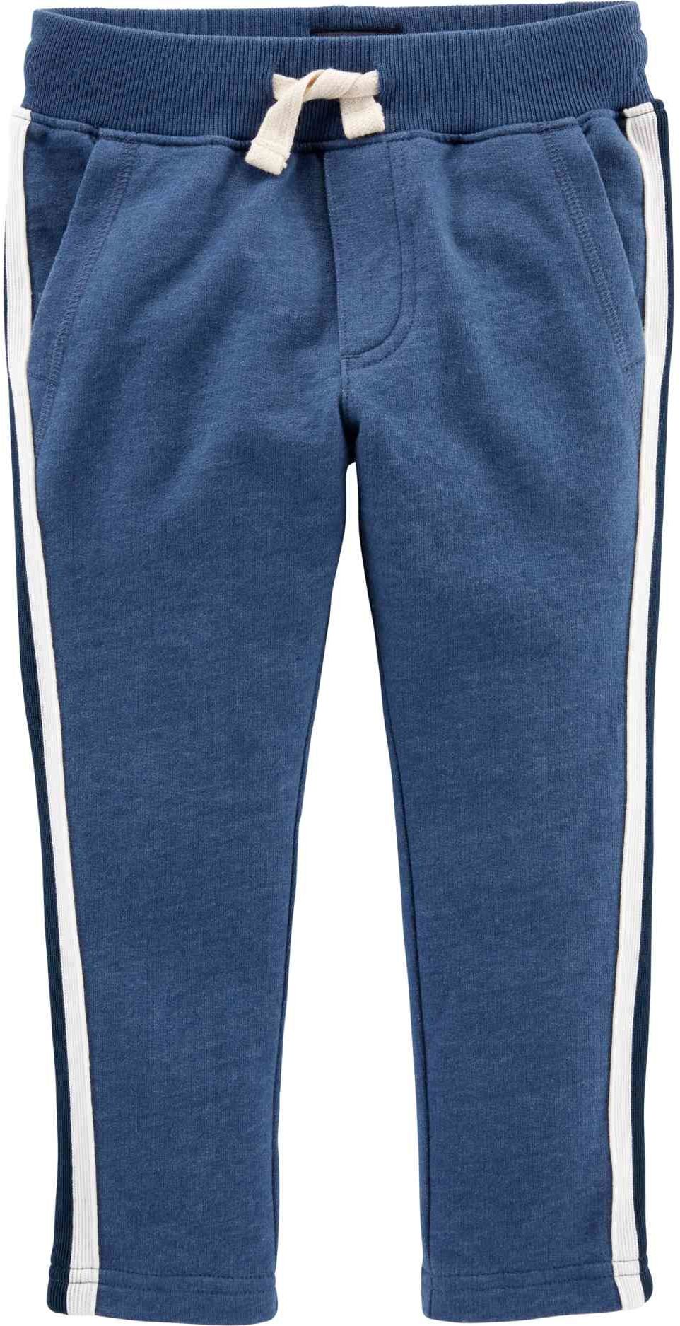 Carter''s - Spodnie joggersy lampasy blue - 68 cm
