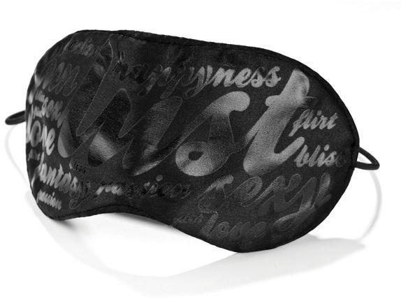Bijoux Indiscrets Blind Passion Mask - Satin Eye Mask