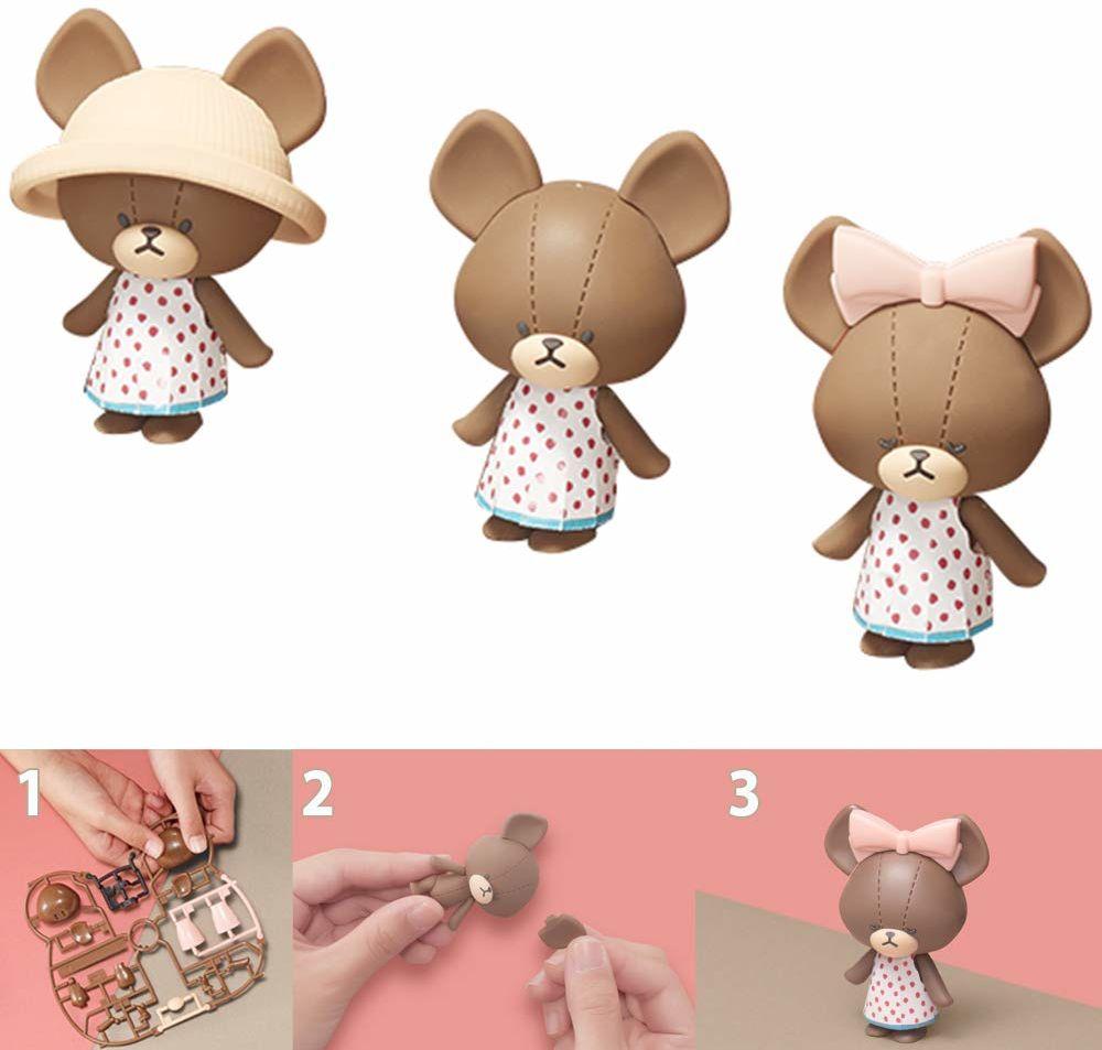 Bandai Haco Room  zestaw do Jackie  26 części do złożenia  lalka kurtka i akcesoria  mini świat zabawek  zestaw zabawek  35461