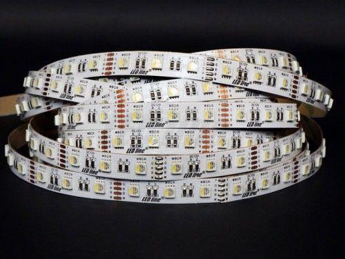 Taśma LED LEDline RGBW 300SMD5060 IP20 biała neutralna niewodoodporna - 5m.