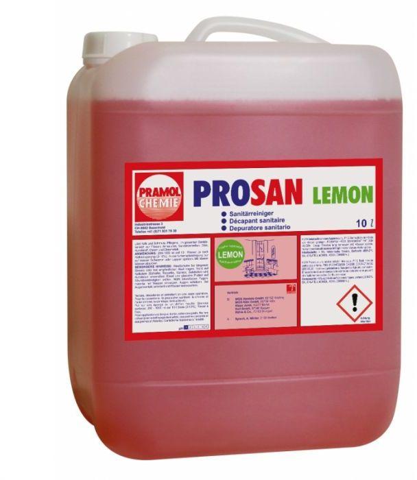 Prosan Lemon - Usuwanie kamienia w łazienkach