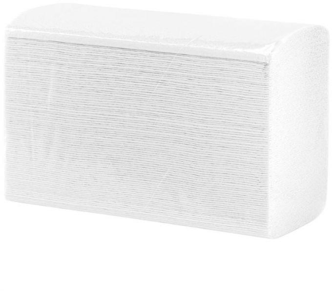 Pojedyncze ręczniki papierowe Merida Top slim, Białe, Dwuwarstwowe 3150 szt. (18 pakietów po 175 szt.)