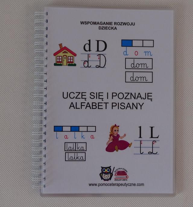Uczę się i poznaję - alfabet pisany