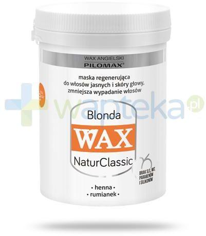 Pilomax WAX NaturClassic Blonda maska regenerująca do włosów jasnych 240 ml