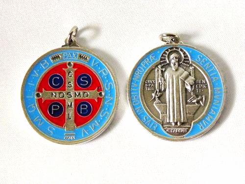 Medalik Św. Benedykta 25 mm