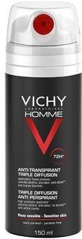 Vichy Homme Deodorant antyprespirant w sprayu 72 godz. 150 ml