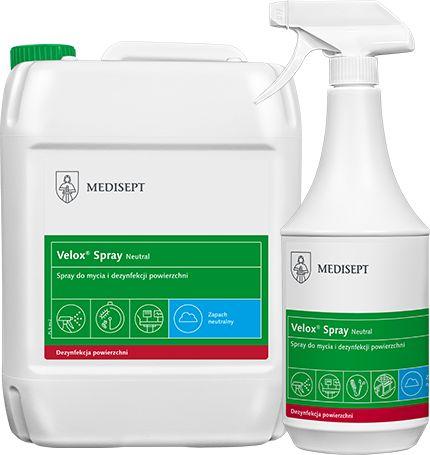 Alkoholowy preparat do dezynfekcji i mycia sprzętu medycznego (MediLine Neutral)