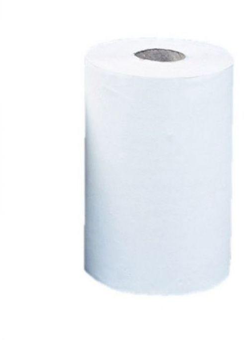 Ręcznik papierowy Merida Optimum mini, śr. 13,5 cm, dł. 60 m,dwuwarstwowy, biały, zgrzewka 12 szt.