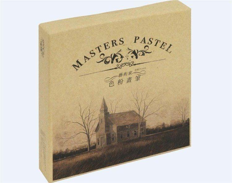 Pastele suche Master F 2024 24 kolorów MARIES