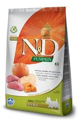 FARMINA N&D Pumpkin Boar&Apple 2,5 kg Dog Mini