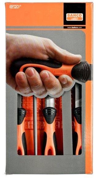 zestaw pilników ręcznych ERGO 250mm [1-478-10-1-2]