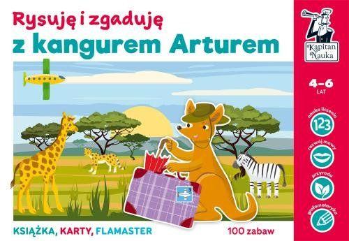 Kapitan Nauka Rysuję i zgaduję z kangurem Arturem ZAKŁADKA DO KSIĄŻEK GRATIS DO KAŻDEGO ZAMÓWIENIA