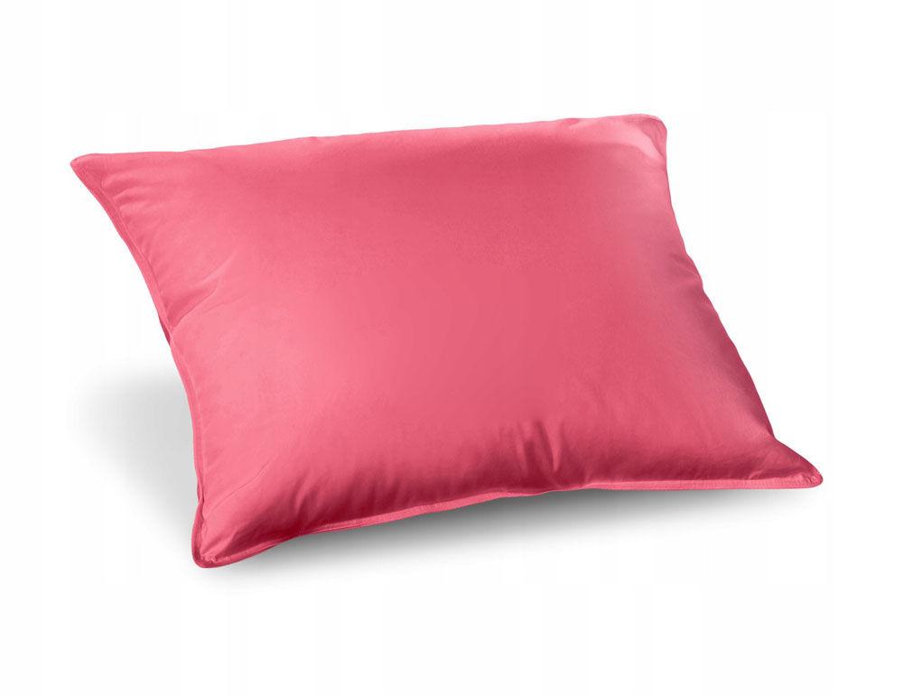 Poduszka pierze 40x40 0,3 kg różowa naturalny wsad 100% bawełna Inlet AMW