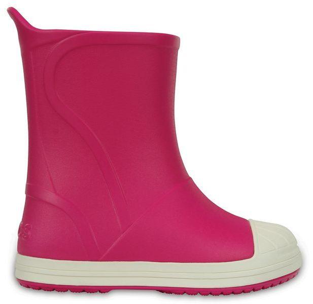 Kalosze dziecięce CROCS BUMP IT BOOT Candy Pink 2035156MI