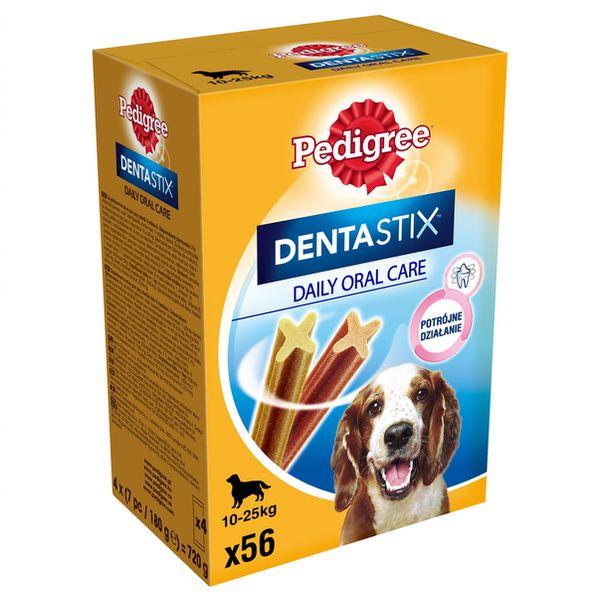 Pedigree Dentastix 10-25kg 56 szt. - przysmak dla psów rasy średniej 56szt + Dostawa GRATIS od 95 zł + super okazje
