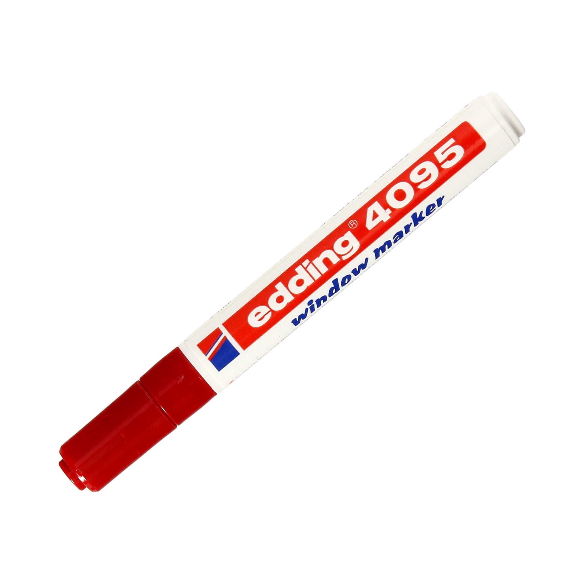 Marker do szyb 2.0-3.0mm czerwony okrągły Edding 4095