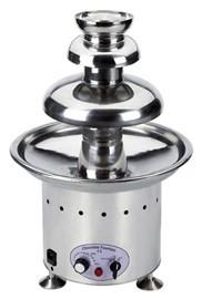 Profesjonalna fontanna czekoladowa Choco Maya 3kg 10-100 C 340W 220-240V śr. 330x(H)510mm