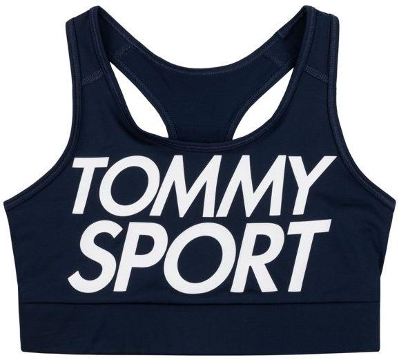 Tommy Sport Biustonosz top Sports Bra Logo Medium S105100070 Granatowy