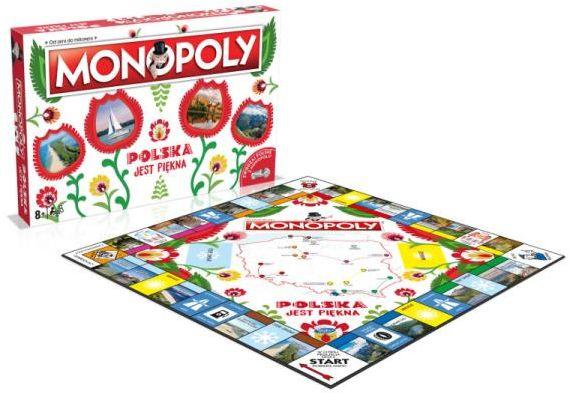 Monopoly Polska jest piękna ZAKŁADKA DO KSIĄŻEK GRATIS DO KAŻDEGO ZAMÓWIENIA