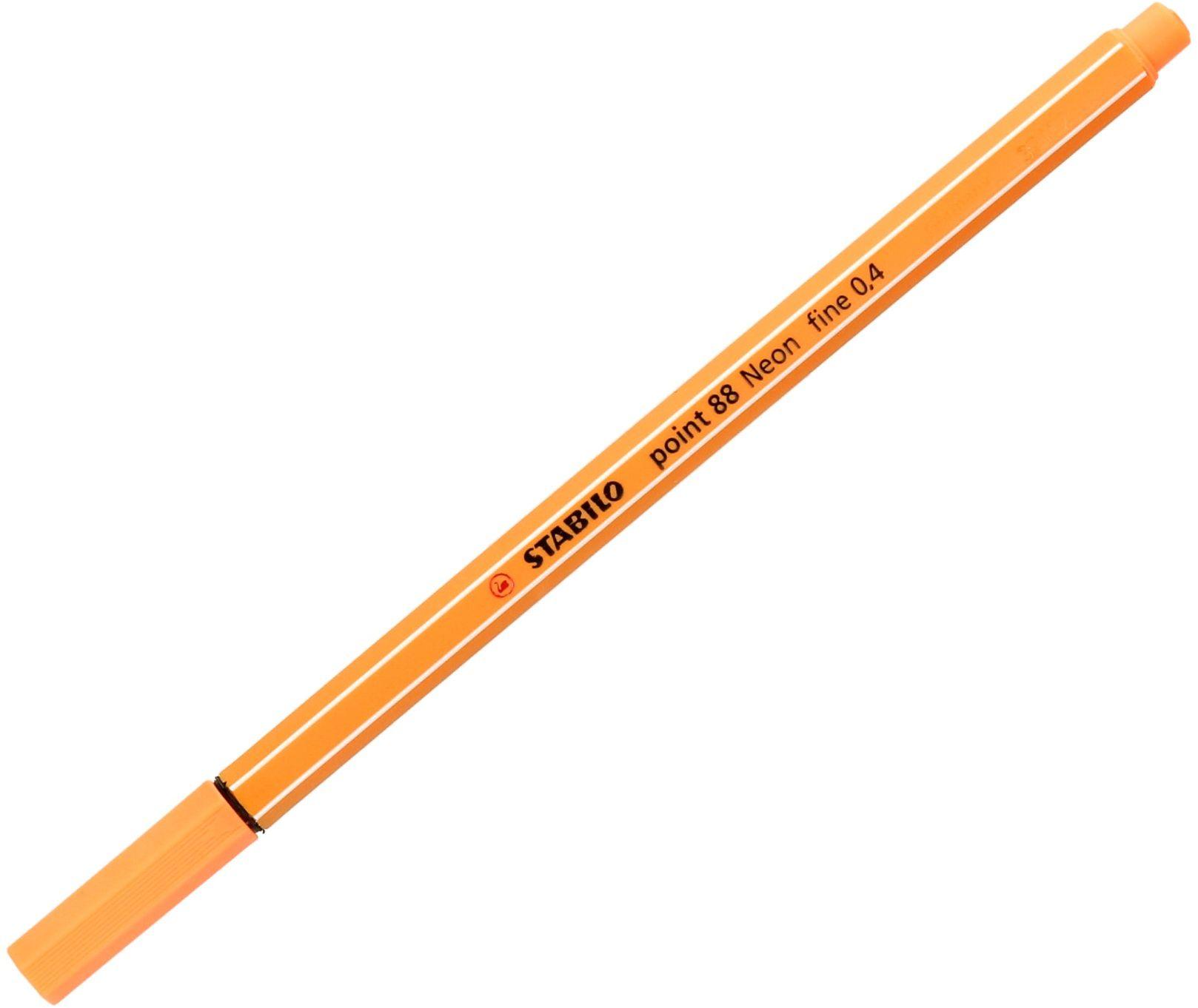 Cienkopis 0.4mm neon pomarańczowy Point 88/054