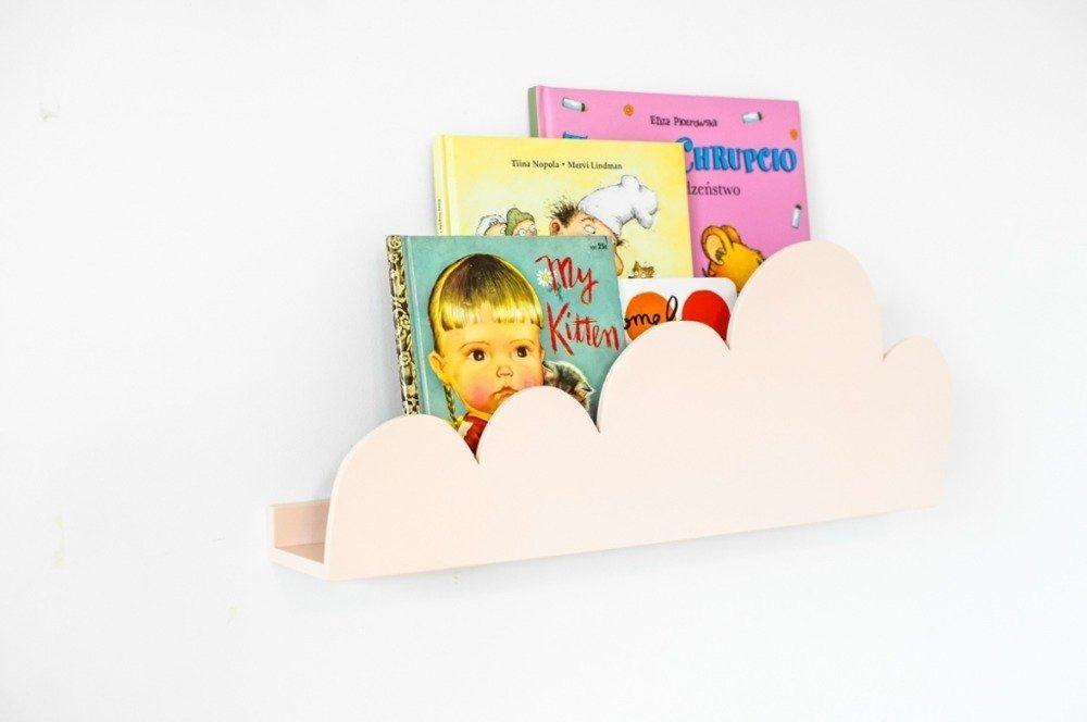 Półka chmurka - brzoskwiniowa