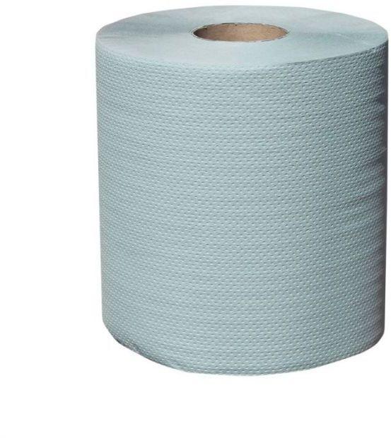 Ręcznik papierowy Merida Klasik Maxi, śr. 19 cm, dł. 180 m, jednowarstwowy, zielony, zgrzewka 6 szt.