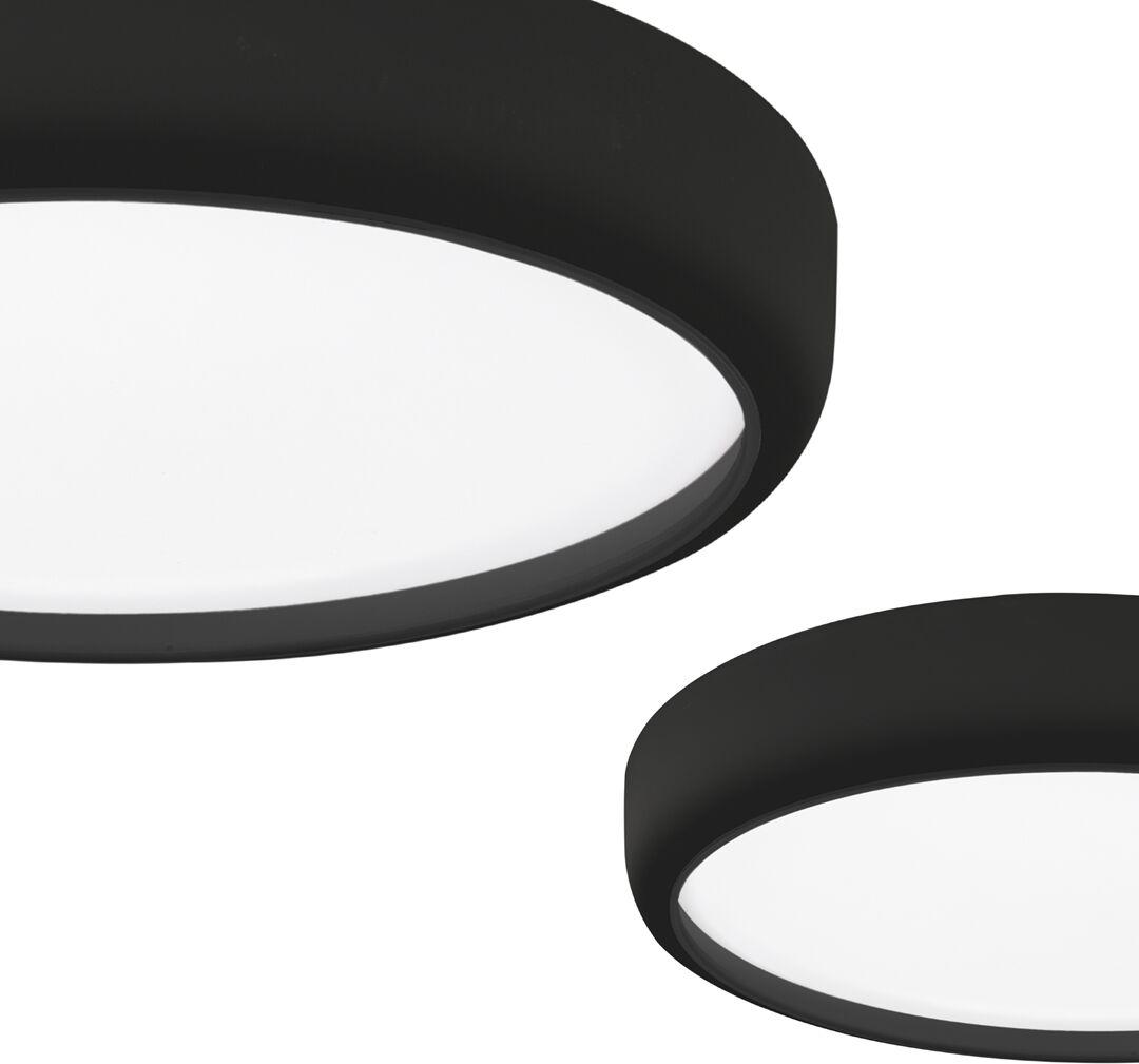 Plafon GEA BLACK 36W LED Ø390 mm