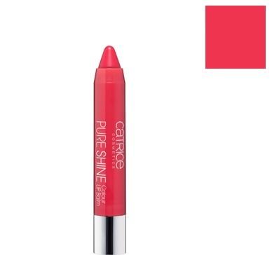 Catrice Cosmetics Pure Shine Balsam do ust w kredce 050 Cherry-ty - 2,5g Do każdego zamówienia upominek gratis.