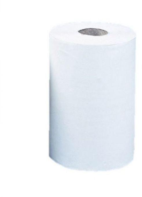 Ręcznik papierowy Merida Top mini , śr 13 cm, dł,70 m, dwuwarstwowy, biały, zgrzewka 12 szt.