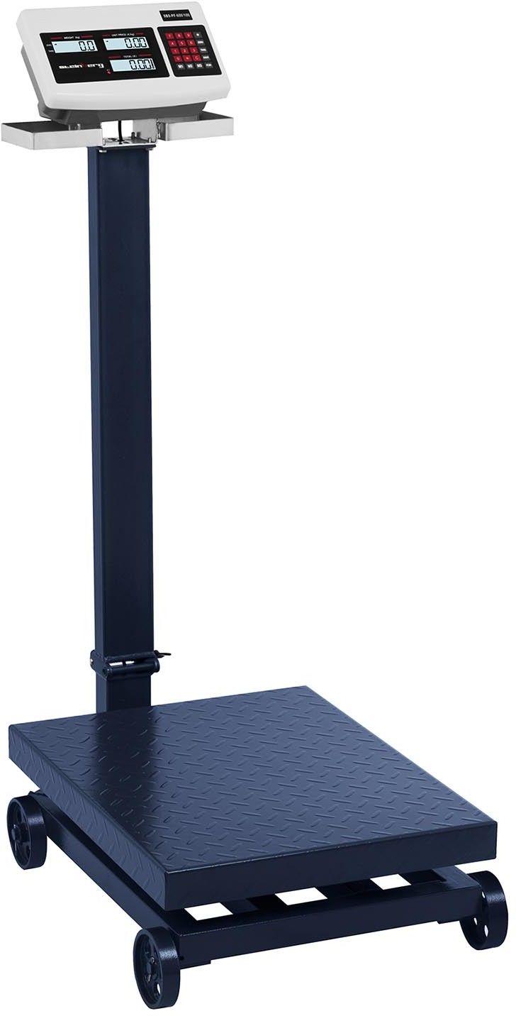 Waga platformowa - 600 kg / 100 g - kółka - Steinberg Systems - SBS-PF-600/100 - 3 lata gwarancji/wysyłka w 24h