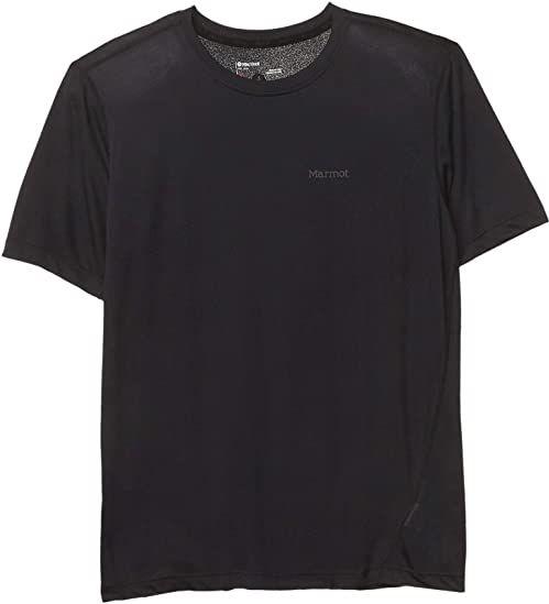 Marmot Męski T-shirt Conveyor, czarny, S