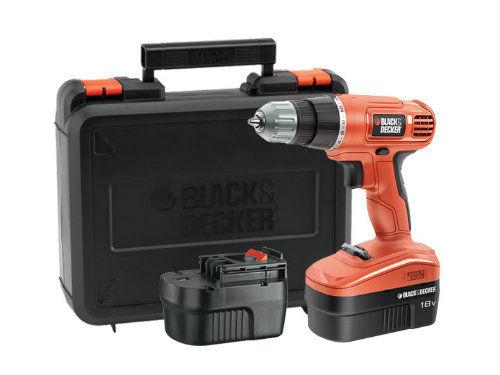 Wiertarko-Wkrętarka Akumulatorowa 18 V BLACK&DECKER EPC18CABK