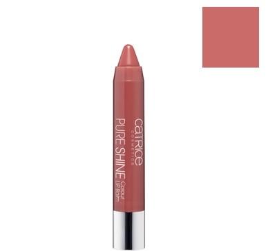 Catrice Cosmetics Pure Shine Balsam do ust w kredce 010 Rose & Woody - 2,5g Do każdego zamówienia upominek gratis.