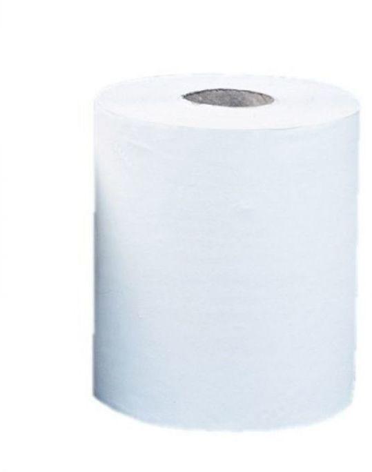 Ręcznik papierowy Merida Top Maxi, śr. 19 cm, dł. 156 m, dwuwarstwowy, biały, zgrzewka 6 szt.