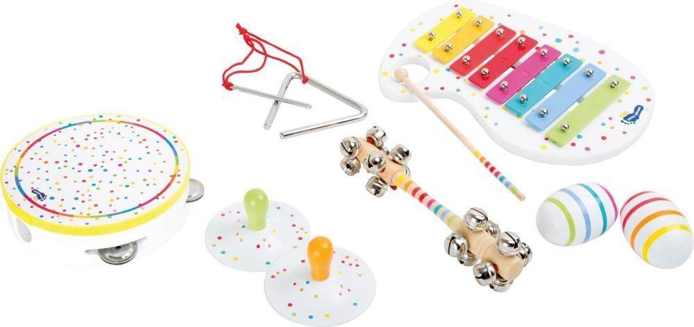 Zestaw instrumentów dla dzieci Nakrapiana szóstka Small Foot Design, zabawki muzyczne