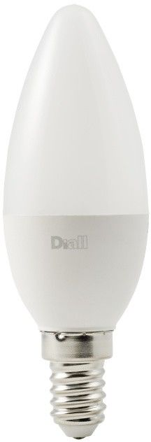 Żarówka LED Diall C37 E14 8 W 806 lm mleczna barwa ciepła DIM