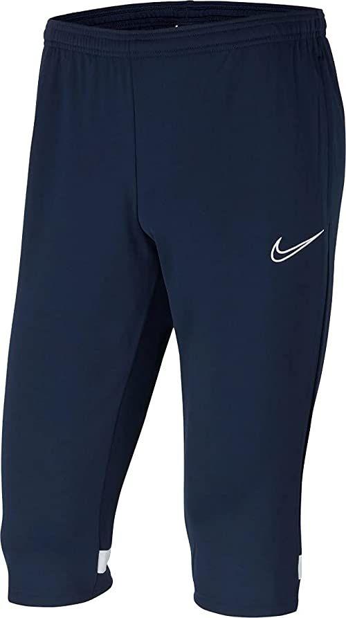 Nike Męskie spodnie treningowe Academy 21 3/4 Knit Pant niebieski Obsydian/White/White/White XL