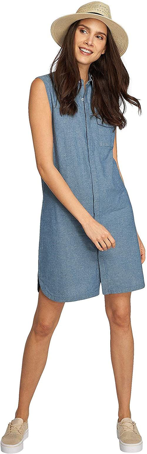 Nikita damska sukienka Cats Eye Dress niebieski niebieski melanż X-S