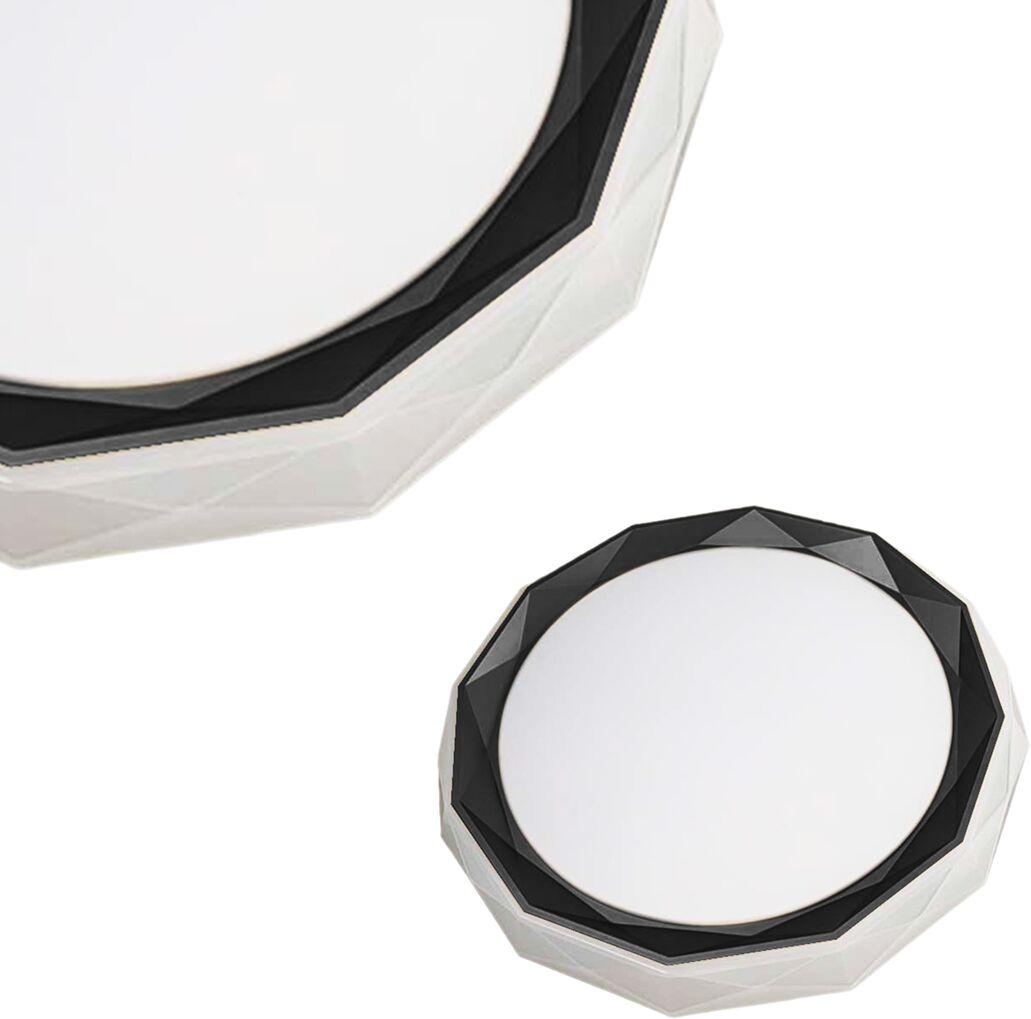 Plafon OSCAR BLACK 45W LED Ø530 mm