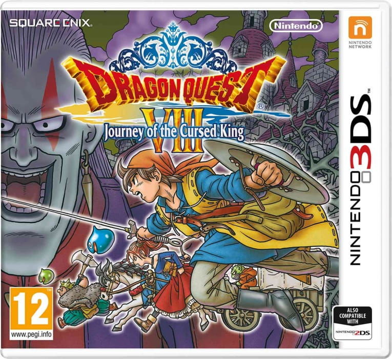 Gra Dragon Quest VIII: Journey of the Cursed King (Nintendo 3DS)