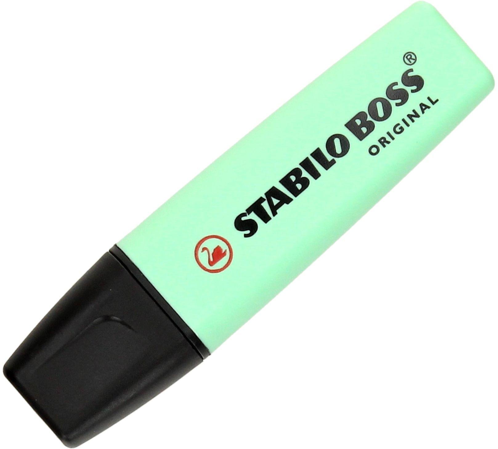 Zakreślacz zielony pastelowy Boss Stabilo 70/116